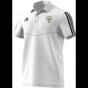 Gomersal CC Adidas White Polo Shirt