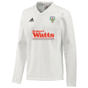 Gomersal CC Adidas L-S Playing Sweater