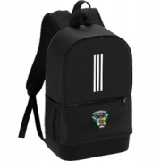 Gomersal Cricket Club Black Training Backpack