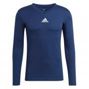 Adidas Long Sleeve Navy Junior Base Layer