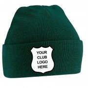 Blackley CC Green Beanie