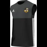 Grosmont CC Adidas Black Training Vest