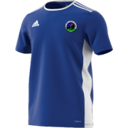 East Kent Cricket Academy Adidas Blue Junior Training Jersey