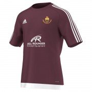 Lightcliffe CC Adidas Maroon Junior Training Jersey