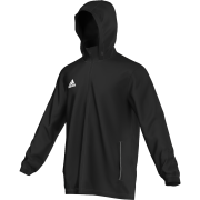 East Horsley CC Adidas Black Rain Jacket