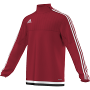 St Michael's on Wyre Adidas Red Junior Training Top