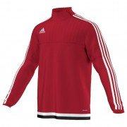 Adidas Tiro 15 Red Training Zip Top