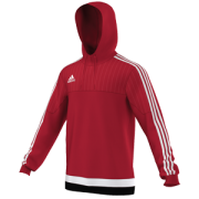 Darcy Lever CC Adidas Red Hoody