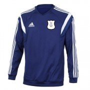 Mill Hill Village FC Adidas Navy Sweatshirt