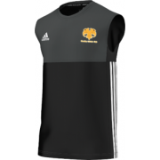 Moseley CC Adidas Black Training Vest