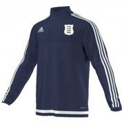 Hutton Rudby CC Adidas Navy Training Top