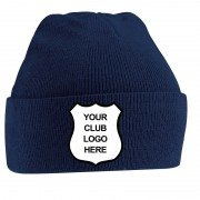 Church Fenton CC Adidas Navy Beanie