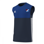 Northwood CC Adidas Navy Training Vest