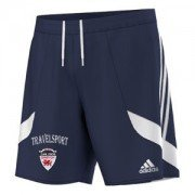 Denbigh CC Adidas Navy Training Shorts