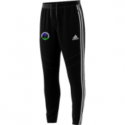 East Kent Cricket Academy Adidas Black Junior Training Pants