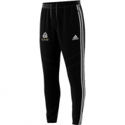 Bolton Abbey CC Adidas Black Training Pants