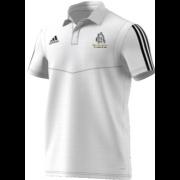 Bolton Abbey CC Adidas White Polo