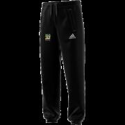 Burneside CC Adidas Black Sweat Pants