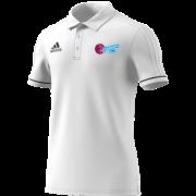 SMASH Adidas White Polo
