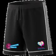 SMASH Adidas Black Junior Training Shorts