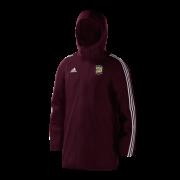 Burneside CC Maroon Adidas Stadium Jacket