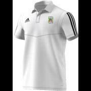 Burneside CC Adidas White Polo