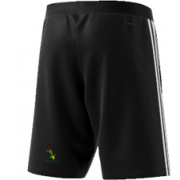 Buckden CC Adidas Black Training Shorts