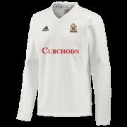 East Horsley CC Adidas Elite Long Sleeve Sweater