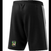 Burneside CC Adidas Black Training Shorts