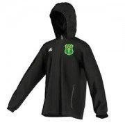 Norton Lindsey & Wolverton CC Adidas Black Rain Jacket