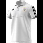 Ramsbottom CC Adidas White Polo Shirt