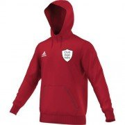 Methley CC Adidas Red Junior Hoody