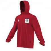 Sheffield Collegiate CC Adidas Red Rain Jacket