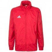 Adidas CoreF Red Junior Rain Jacket
