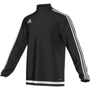 Hayle CC Adidas Black Junior Training Top