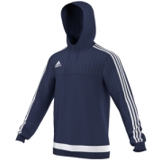 Dundee and Angus Girls Cricket Adidas Navy Hoody