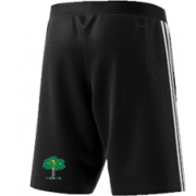 Hillam & Monk Fryston CC Adidas Black Training Shorts