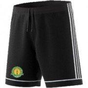 Checkley CC Adidas Black Junior Training Shorts