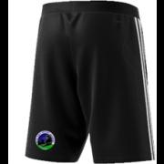 East Kent Cricket Academy Adidas Black Training Shorts