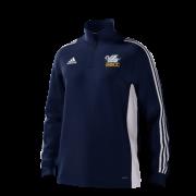 South Milford CC Adidas Navy Junior Training Top