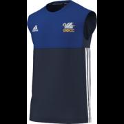 South Milford CC Adidas Navy Training Vest