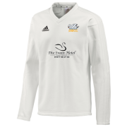 South Milford CC Adidas L-S Playing Sweater
