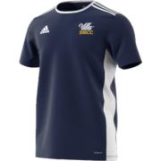 South Milford CC Adidas Navy Junior Training Jersey