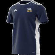 South Milford CC Adidas Navy Junior Training Jersey