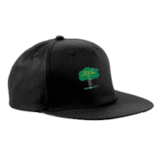 Hillam & Monk Fryston CC Black Snapback Hat
