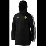 Meanwood CC Black Adidas Stadium Jacket