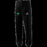 Hillam & Monk Fryston CC Adidas Black Sweat Pants