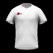 Samurai Junior White T Shirt Front