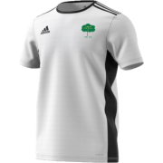 Hillam & Monk Fryston CC Adidas White Junior Training Jersey