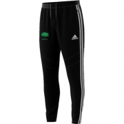 Hillam & Monk Fryston CC Adidas Black Junior Training Pants
